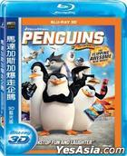 Penguins of Madagascar (2014) (Blu-ray) (3D) Taiwan Version)