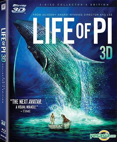 Yesasia Life Of Pi 2012 Blu Ray 3d 2 Disc Collector S Edition Hong Kong Version Blu Ray Ang Lee Irrfan Khan 20th Century Fox Taiwan Movies Videos Free Shipping North America Site