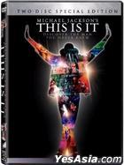 Michael Jackson: This Is It (2009) (DVD) (Two-Disc Special Edition) (UK Version)