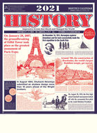 History 2021 Calendar (Japan Version)