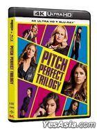 Pitch Perfect Trilogy (4K Ultra HD + Blu-ray) (6-Disc Edition) (Hong Kong Version)