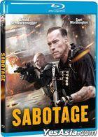 Sabotage (2014) (Blu-ray) (Taiwan Version)