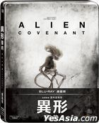 Alien: Covenant (2017) (Blu-ray) (Steelbook) (Taiwan Version)