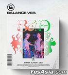 Super Junior-D&E Mini Album Vol. 4 - BAD BLOOD (Balance Version)