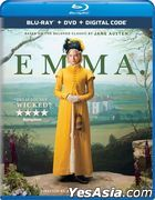 Emma. (2020) (Blu-ray + DVD + Digital Code) (US Version)