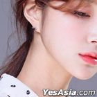 NU'EST Baek Ho & GOT7 Jackson & B.A.P & Teen Top Ricky Style - Mini Triangle Solid Piercing (Glossy Silver)