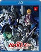 Mobile Suit Gundam Unicorn (Blu-ray) (Vol. 4 - At the Bottom of the Gravity Well) (Multi-Language Subtitles) (Japan Version)