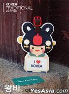 Miraclekorea Traditional Character Travel Name Tag (Version 3) (Queen)