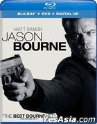 Jason Bourne (2016) (Bu-ray + DVD + Digital HD) (US Version)