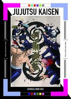 Jujutsu Kaisen 2022 Schedule Book