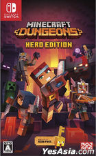 Minecraft Dungeons Hero Edition (Japan Version)