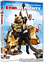 Evan Almighty (DVD) (Hong Kong Version)