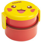 Pokemon Round Food Box 500ml (with Fork)