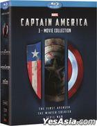 美國隊長1-3套裝 (Blu-ray) (香港版)