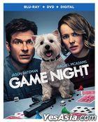 Game Night (2018) (Blu-ray + DVD + Digital) (US Version)