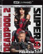 Deadpool 2 (2018) (4K Ultra HD + Blu-ray) (Rating III Edition) (Hong Kong Version)