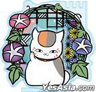 Natsume Yujincho : Kirie Series Accessory Stand Nyanko-sensei A Asagao