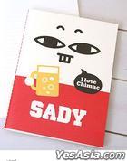 Majo & Sady - Stitch Notebook (Sady)