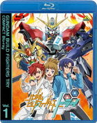 Gundam Build Fighters TRY Compact  Vol.1  (Blu-ray)(Japan Version)