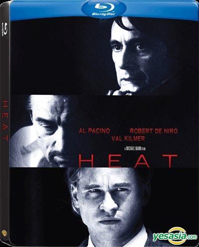 Yesasia Heat 1995 Blu Ray Steelbook Hong Kong Version Blu Ray Al Pacino Robert De Niro Warner Home Video Hk Western World Movies Videos Free Shipping
