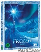 Frozen (Blu-ray) (2-Disc) (3D + 2D) (Korea Version)
