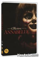 Annabelle (2014) (DVD) (Korea Version)