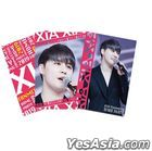2019 XIA Fanmeeting  - HOME PARTY - DAY  Osaka Performance SPECIAL GOODS - HOME PARTY Clear File (3pcs Set)