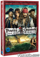 Pirates Of The Caribbean : On Stranger Tides (DVD) (Korea Version)