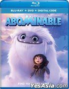 Abominable (2019) (Blu-ray + DVD + Digital Code) (US Version)