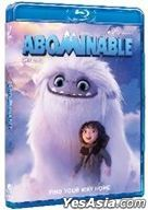 Abominable (2019) (Blu-ray) (Hong Kong Version)