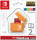 Nintendo Switch CARD POD (橙色) (日本版)