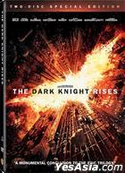 The Dark Knight Rises (2012) (DVD) (2-Disc Special Edition) (Hong Kong Version)
