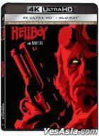 Hellboy (2004) (4K Ultra HD + Blu-ray) (Hong Kong Version)