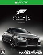 Forza Motorsport 5 (First Press Limited Edition) (Japan Version)