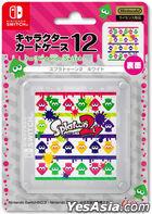 Nintendo Switch Character Card Case Splatoon 2 (White) (Japan Version)