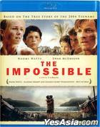 The Impossible (2012) (Blu-ray) (Hong Kong Version)