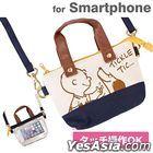 Peanuts : Mini Mini Tote Bag (Dekake Chao) TICKLE SNG-108A