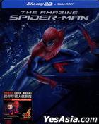 The Amazing Spider-Man (2012) (Blu-ray) (2D + 3D) (2-Disc Steelbook) (Hong Kong Version)