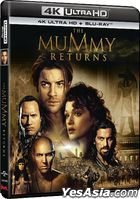 The Mummy Returns (2001) (4K Ultra HD + Blu-ray) (Hong Kong Version)