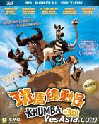 Khumba (2013) (Blu-ray) (3D Special Edition) (Hong Kong Version)