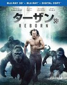The Legend of Tarzan (3D + 2D Blu-ray) (Japan Version)