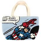 Captain America Stitch Lunch Bag