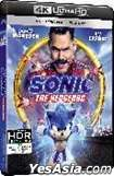 Sonic the Hedgehog (2020) (4K Ultra HD + Blu-ray) (Hong Kong Version)
