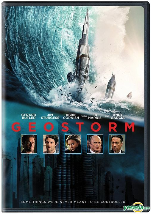 Yesasia Geostorm 2017 Dvd Us Version Dvd Gerard Butler Jim Sturgess Warner Entertainment Japan Western World Movies Videos Free Shipping