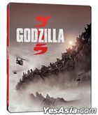Godzilla (2014) (4K Ultra HD + Blu-ray) (Steelbook) (Hong Kong Version)