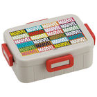 MARVEL LOGO 4 Lock Lunch Box (Colorful)