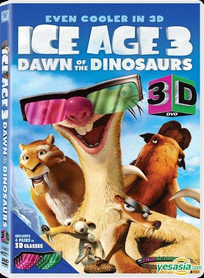 Yesasia Ice Age 3 Dawn Of The Dinosaurs Dvd 3d Version Hong Kong Version Dvd Jan Lamb Sam Lee Deltamac Hk Western World Movies Videos Free Shipping North America Site