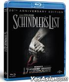 Schindler's List (1993) (Blu-ray) (Hong Kong Version)