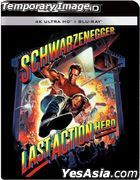 Last Action Hero (1993) (4K Ultra HD + Blu-ray) (Steelbook) (Taiwan Version)