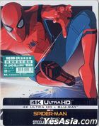 Spider-Man: Homecoming (2017) (4K Ultra HD + Blu-ray) (Steelbook) (Hong Kong Version)